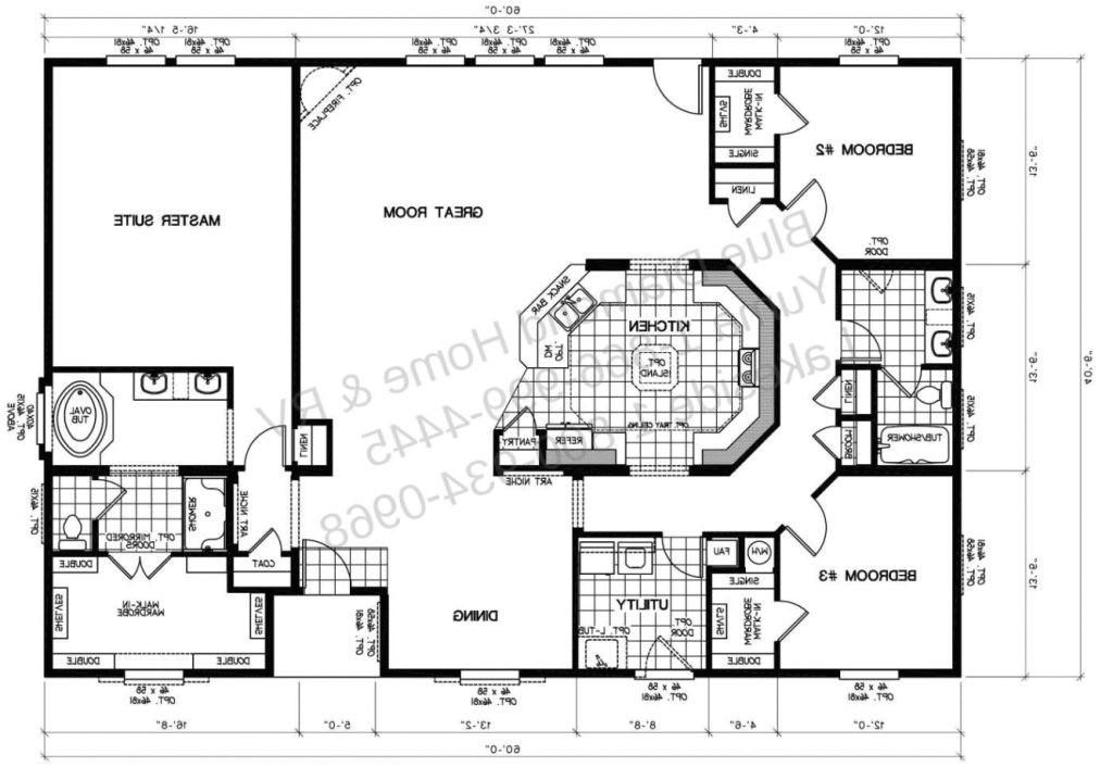 elegant sunshine mobile home floor plans
