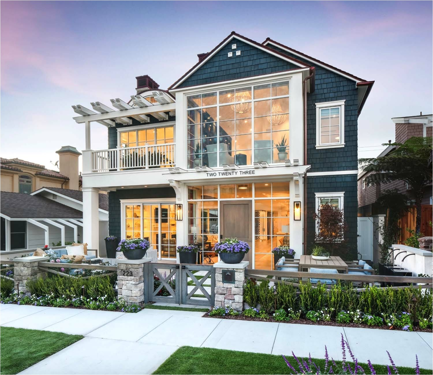 modern coastal home california