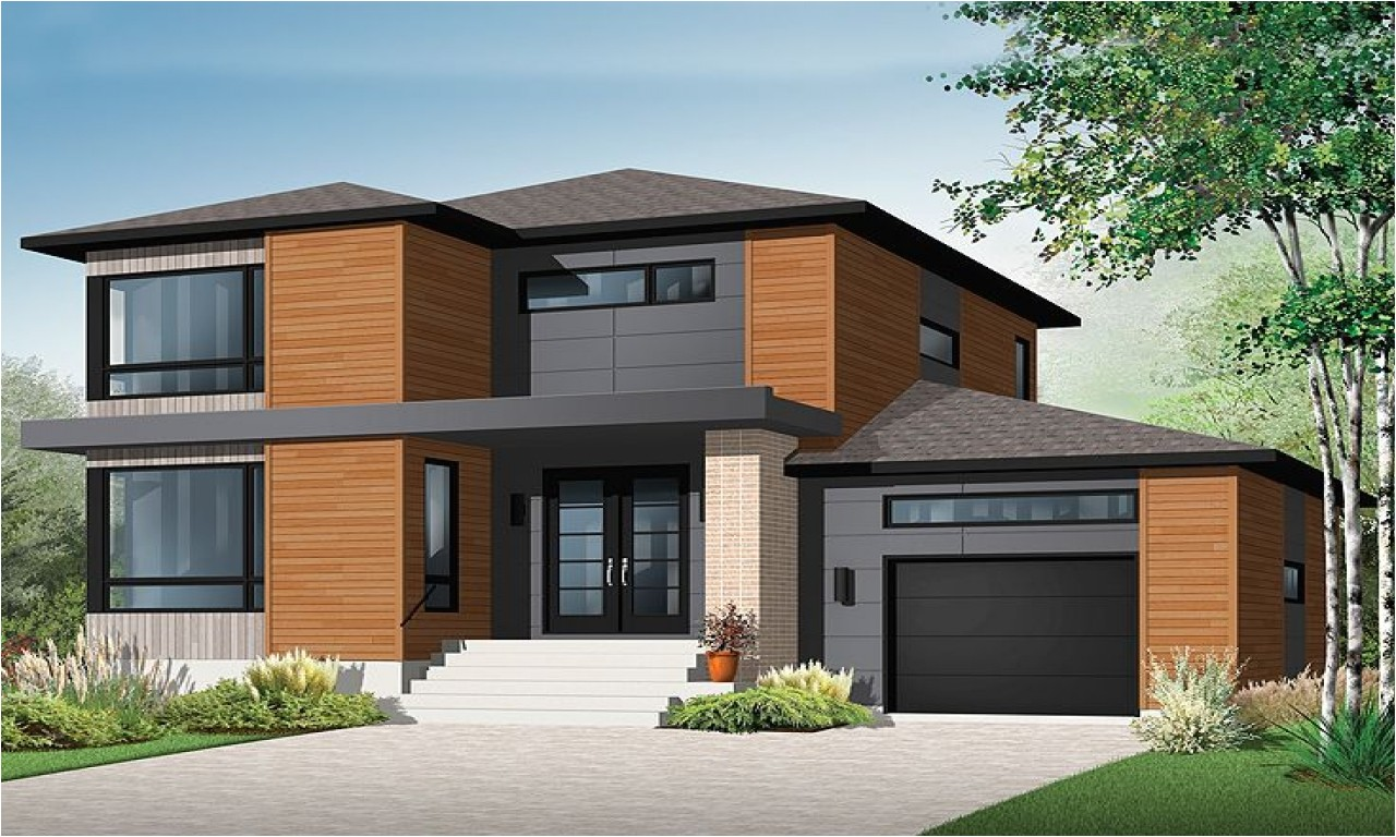 Modern Contemporary Home Plans 2 Story House Plans Contemporary Modern House Plan