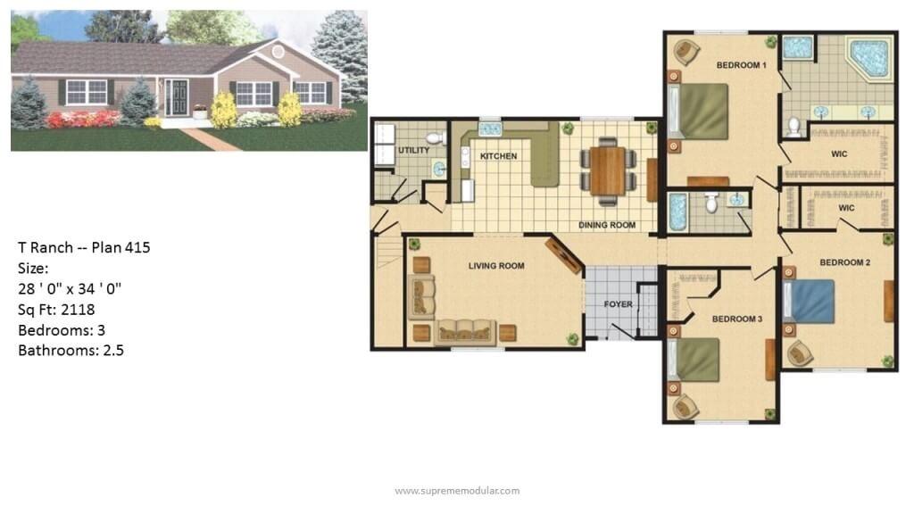 plans for modular homes