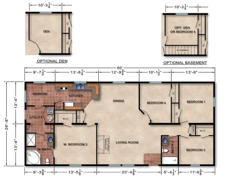modular home floor plans and prices missouri