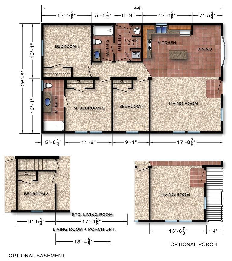 modular homes prices floor plan