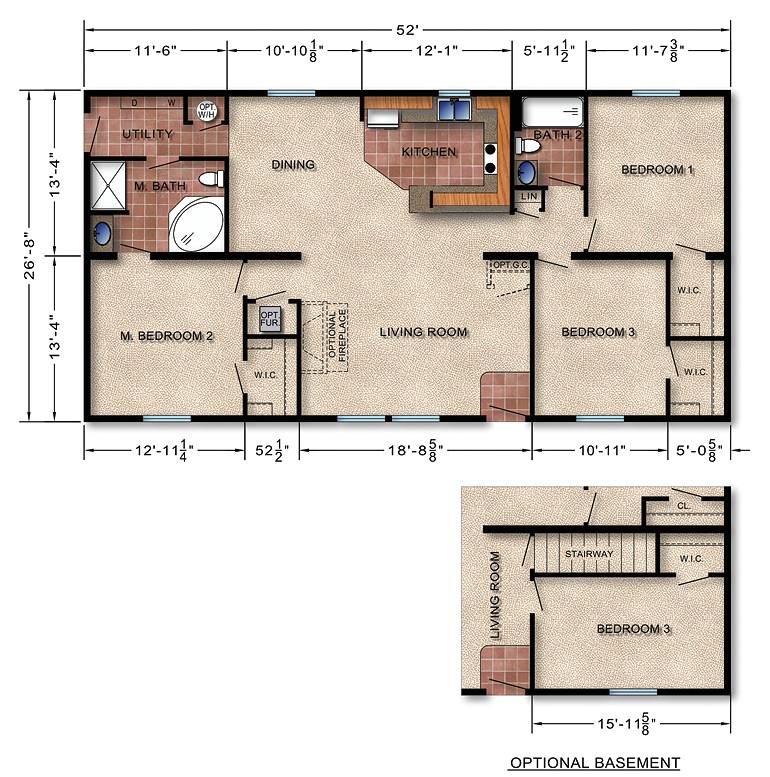 modular homes with prices and floor plan