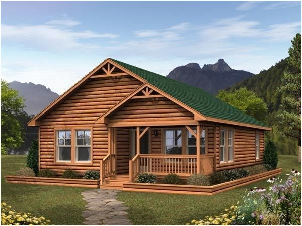 log cabin modular homes floor plans