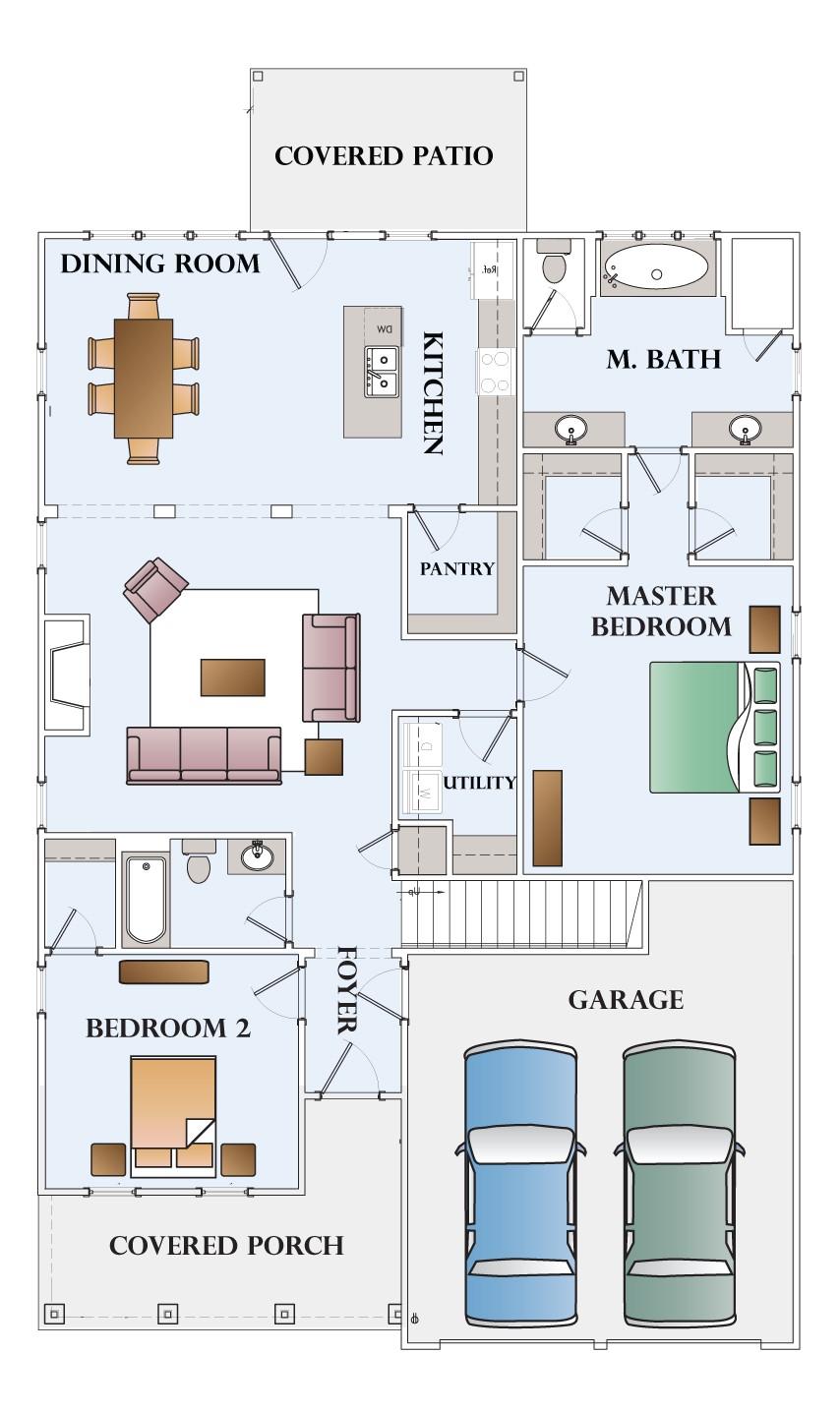 montgomery homes carolina floor plans