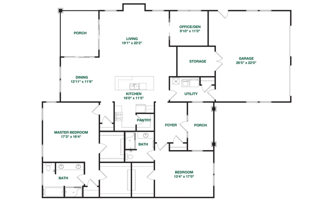 Montgomery Homes Floor Plans Our Residences Retirement Chapel Hill Carolina Meadows