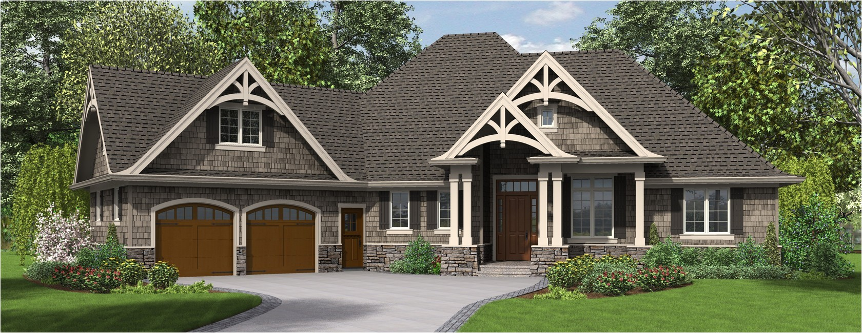13 fresh most popular one story house plans