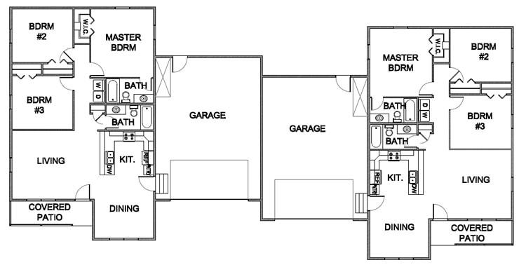 floor plans to multi family homes