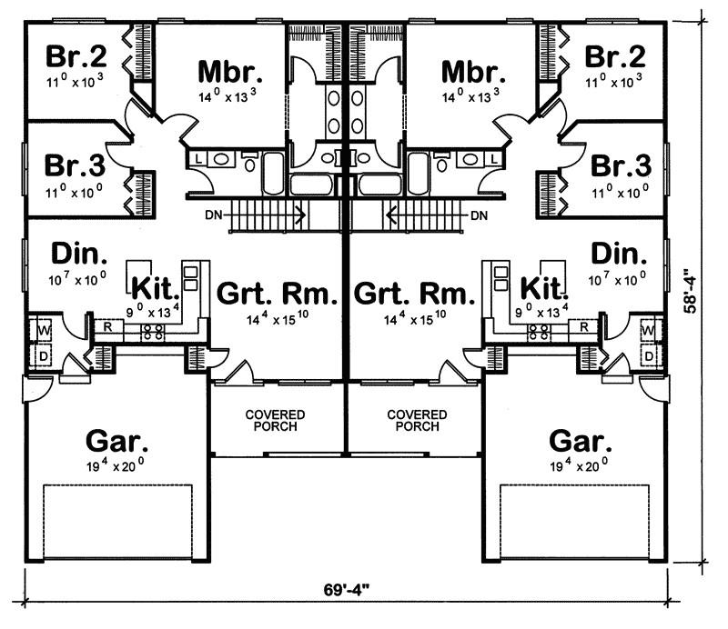 high resolution multi family home plans 9 multi family house floor plans