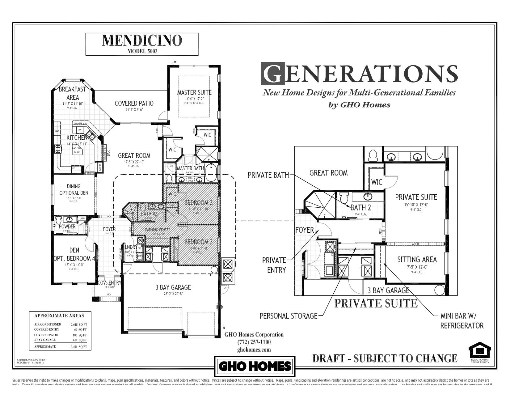 exceptional multigenerational house plans 3 multi generational home plans