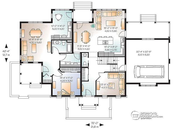 high quality multigenerational home plans 9 multi generational house floor plans