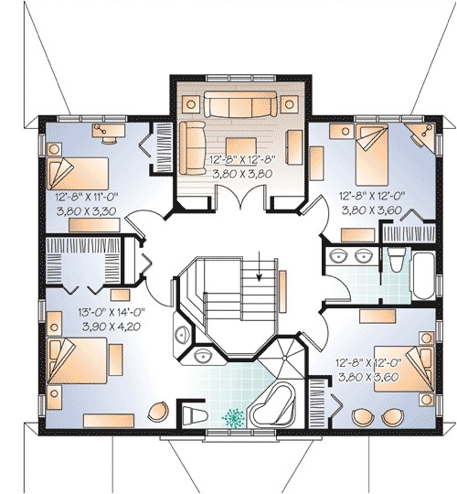 multi generational house plan 21767dr