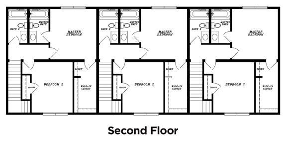 3 unit multi family house plans
