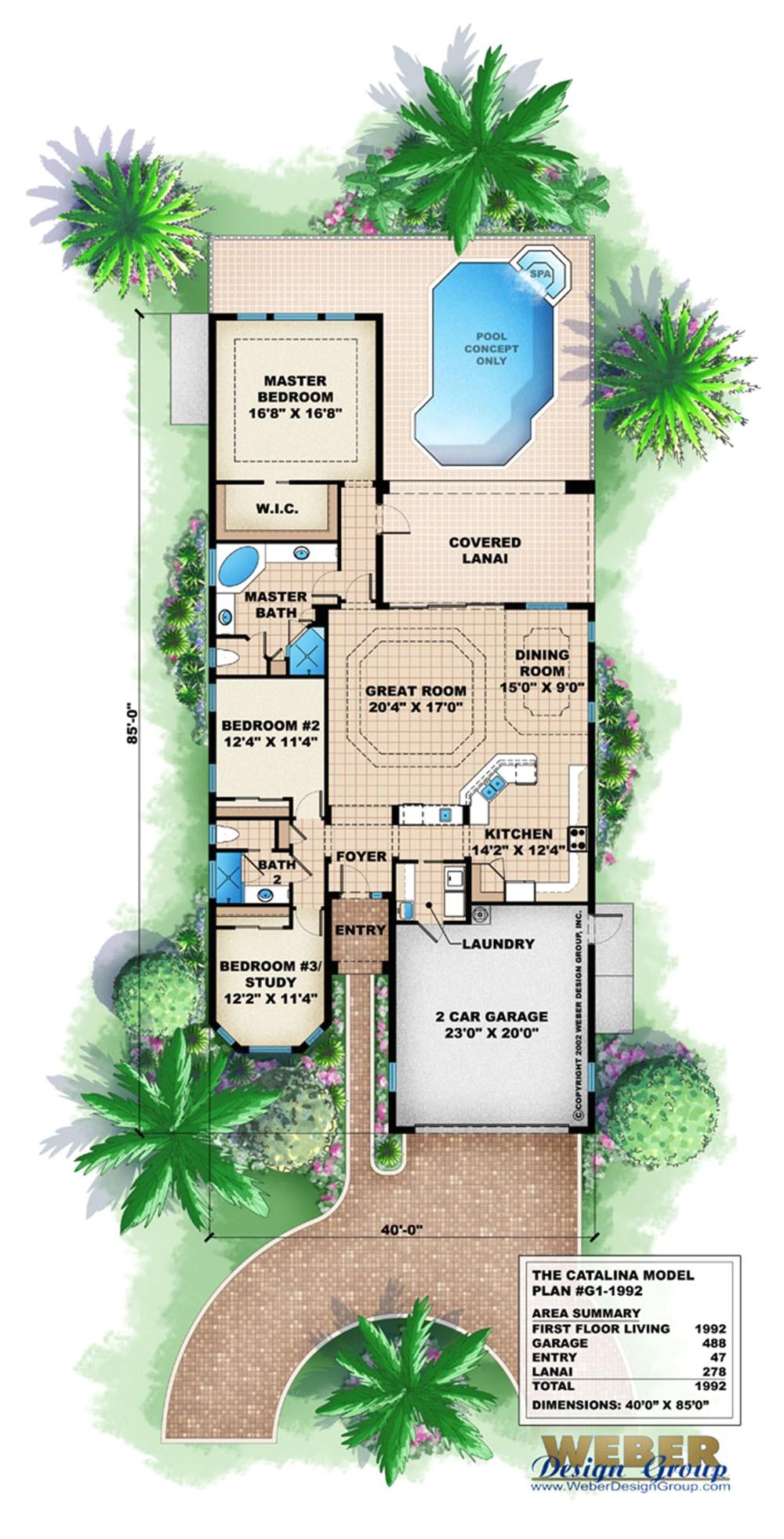 catalina home plan
