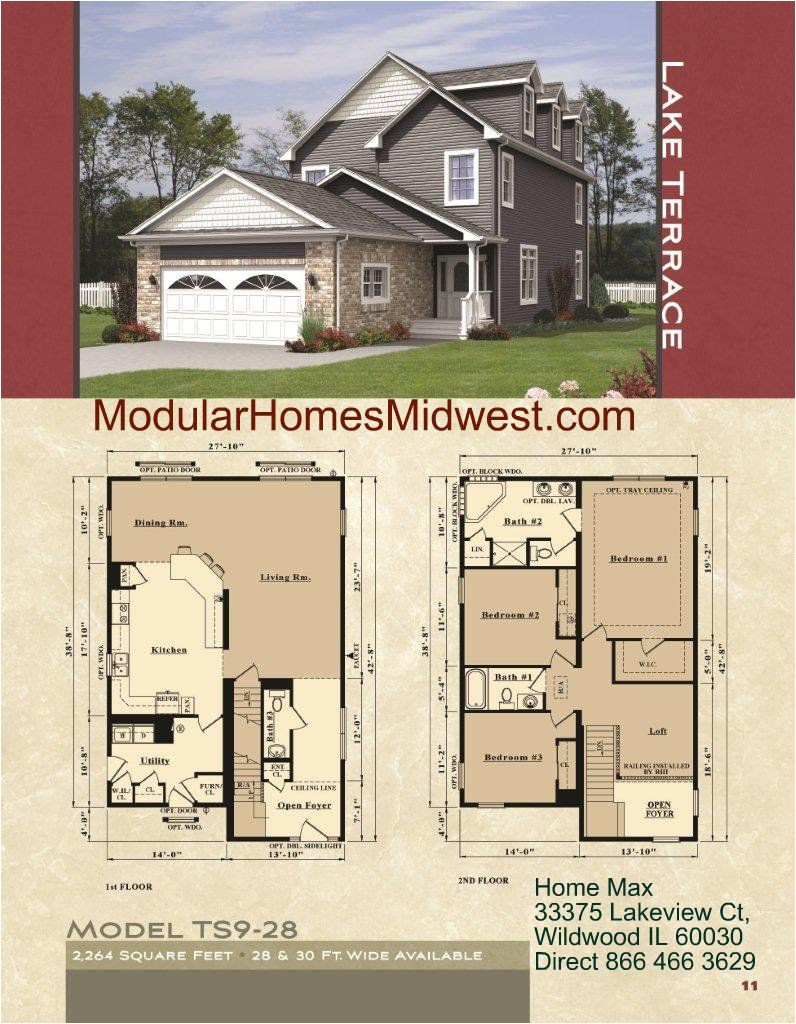 two story narrow lot house plans