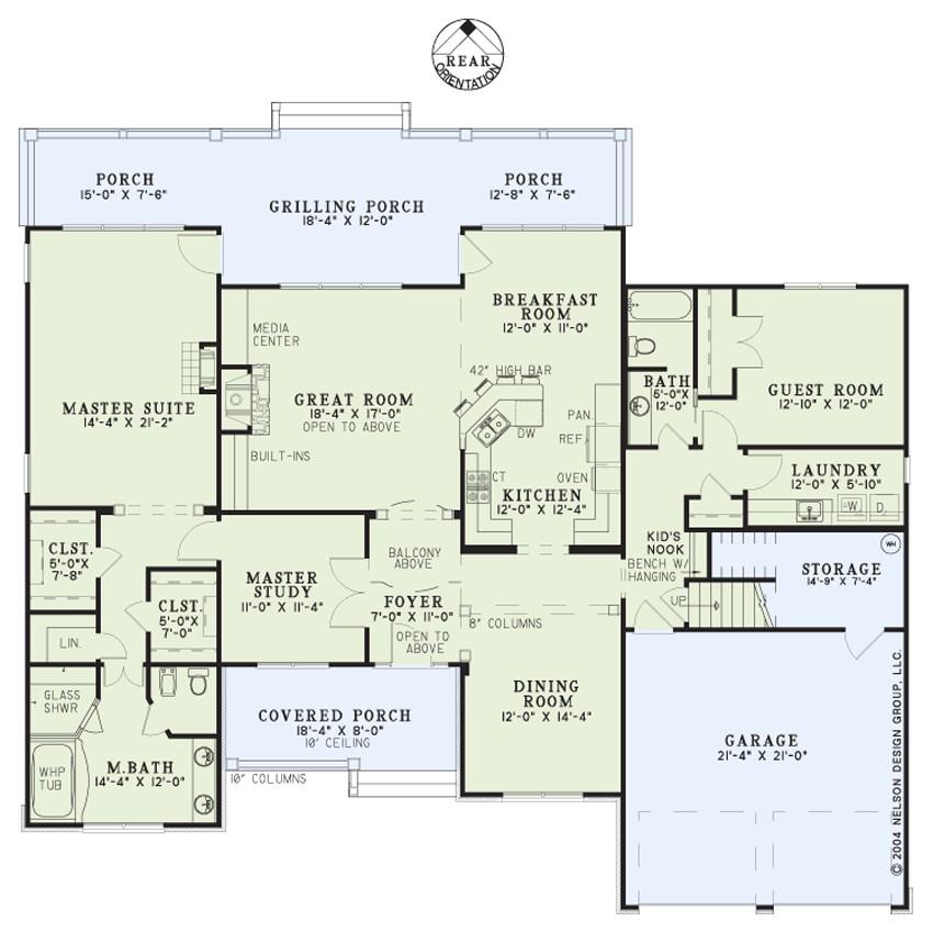 house plan 948b ambrose boulevard