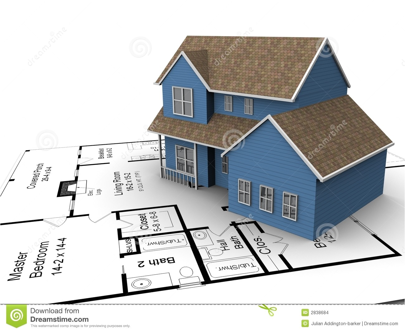 stock images new house plans image2838684