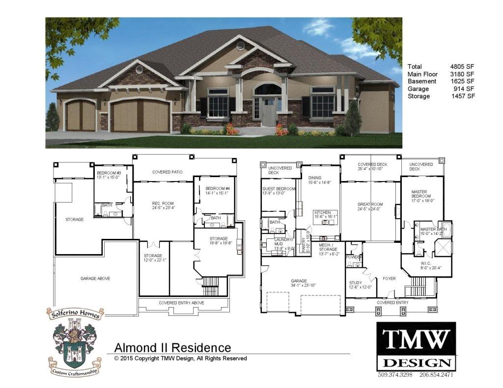 house plans with daylight basements elegant rambler daylight basement floor plans