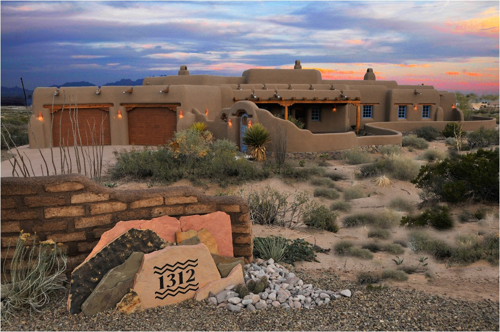 classic pueblo style new mexico custom home built for an artist by artists