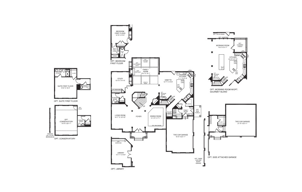 nv homes monticello floor plan
