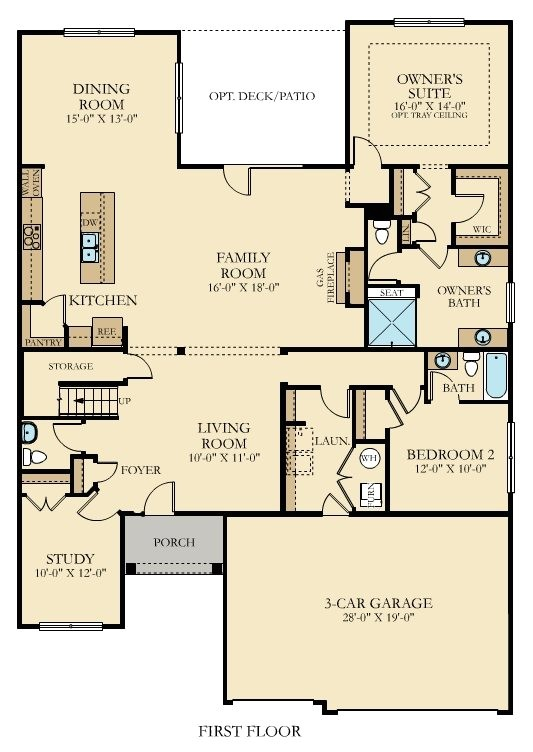 nv homes randolph floor plan