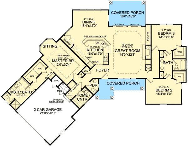 One Level Home Plans with Bonus Room One Level House Plans with Bonus Room Home Deco Plans