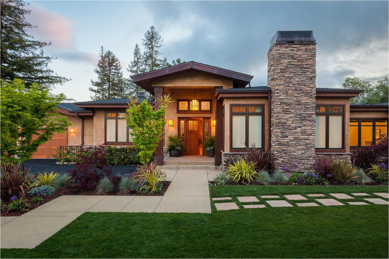 affordable craftsman one story house plans