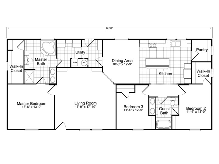 4 bedroom house plans under 1600 sq ft