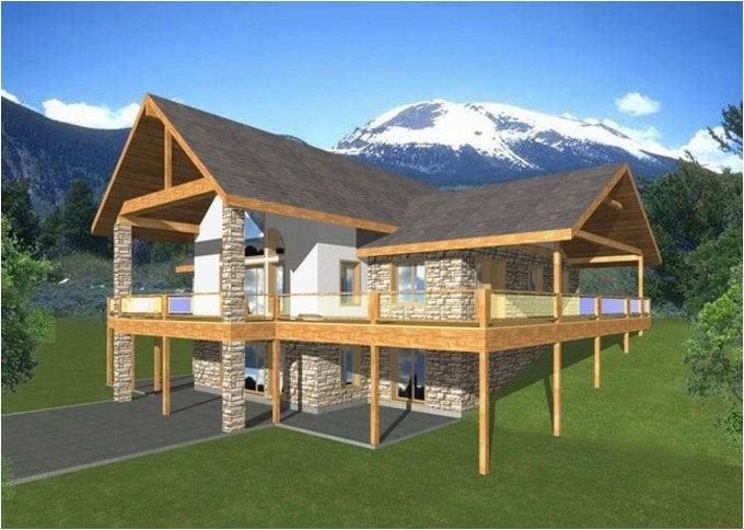 1 story house plans with walkout basement unique walkout basement house plans