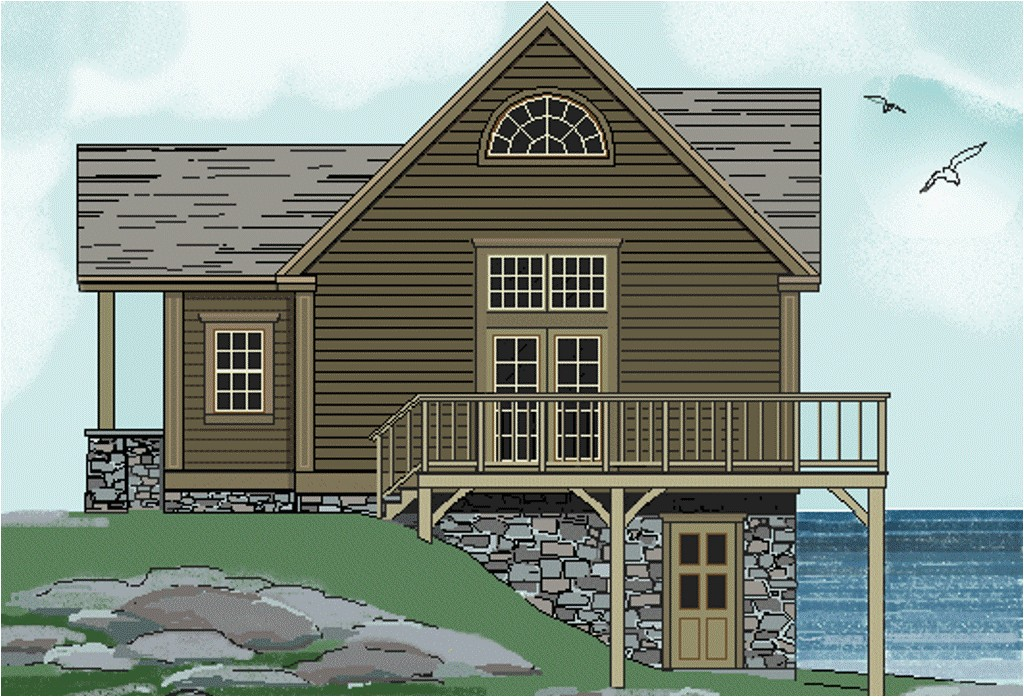 one story house plans with walkout basements