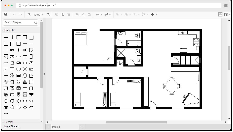 Online home floor plan designer - Online floor plan designer ...