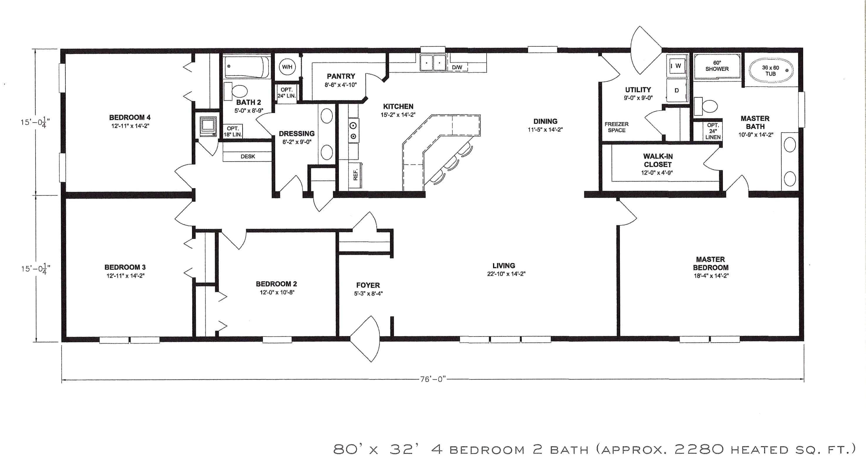 house open floor plans