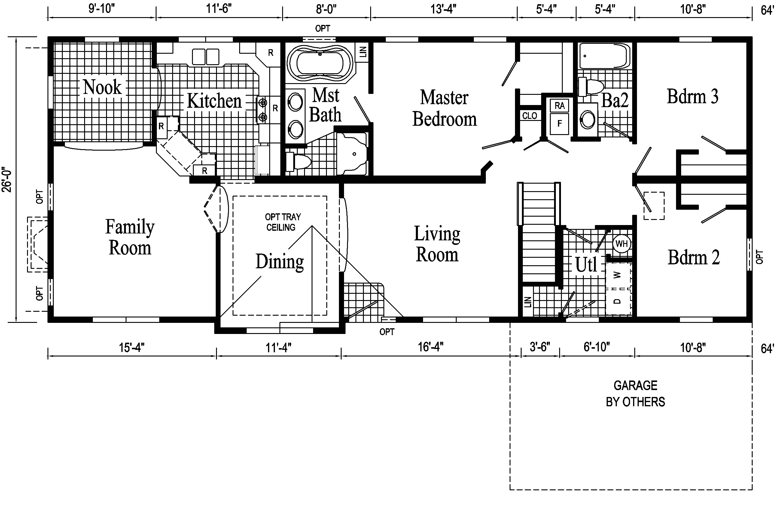 ranch house remodel open floor plans