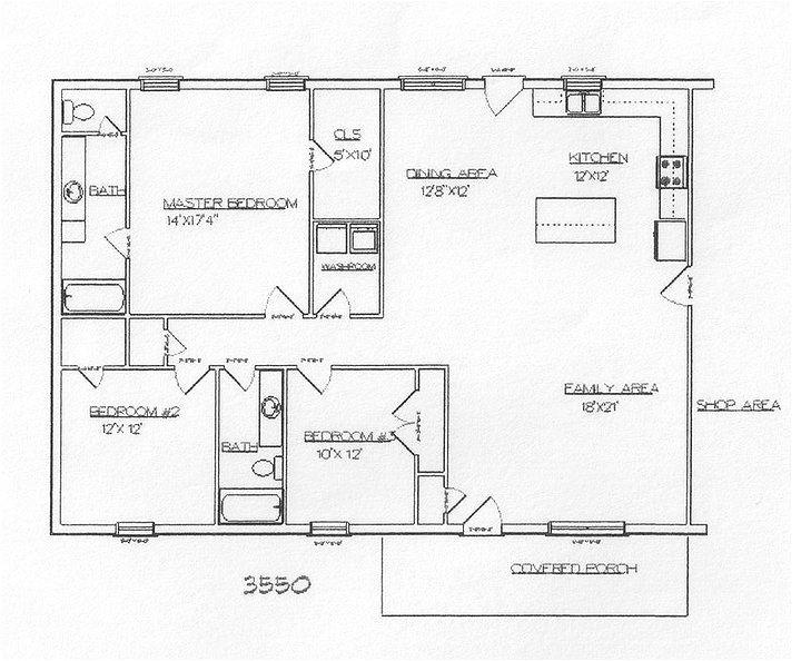 Open Floor Plan Metal Homes 76 Best Images About Cabin Floor Plans On Pinterest