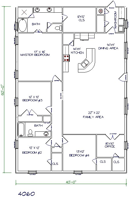 texas barndominiums texas metal homes texas steel homes texas barn homes barndominium floor plans i really like this layout and size i would get rid of the wall making a hallway and put pocket