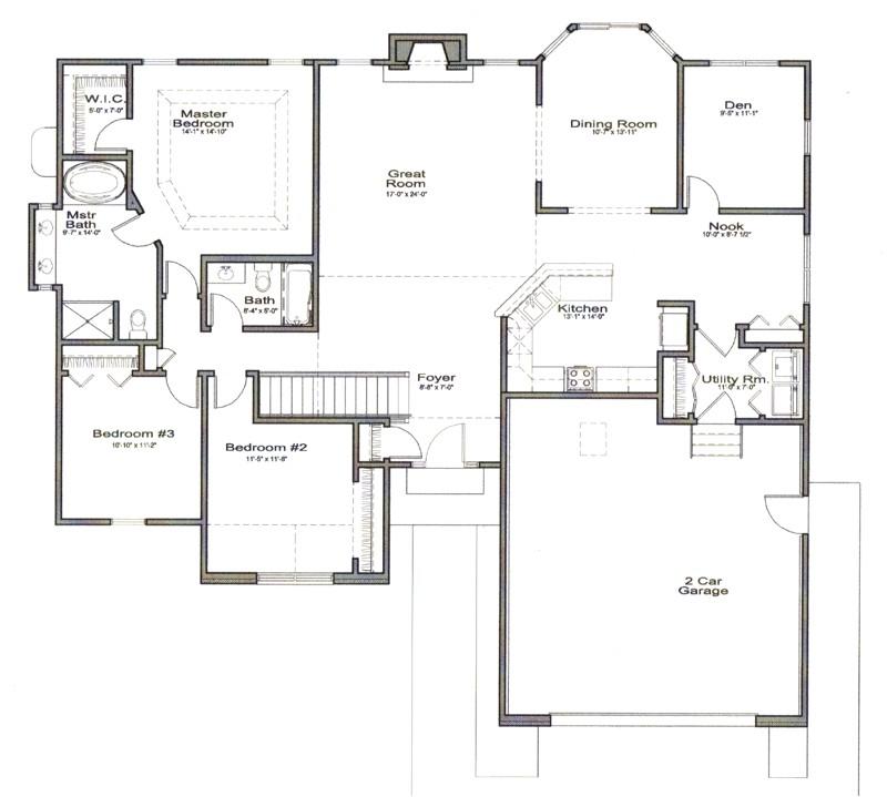 open floor house plans