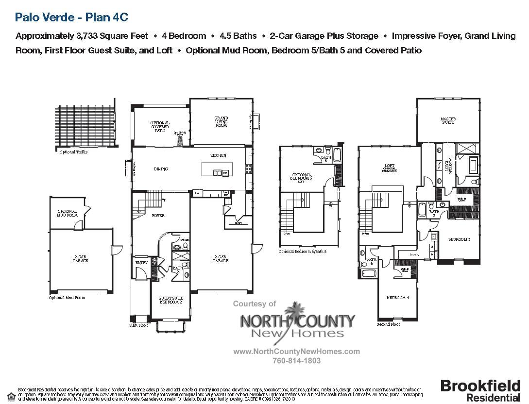 palo verde floor plan 4c