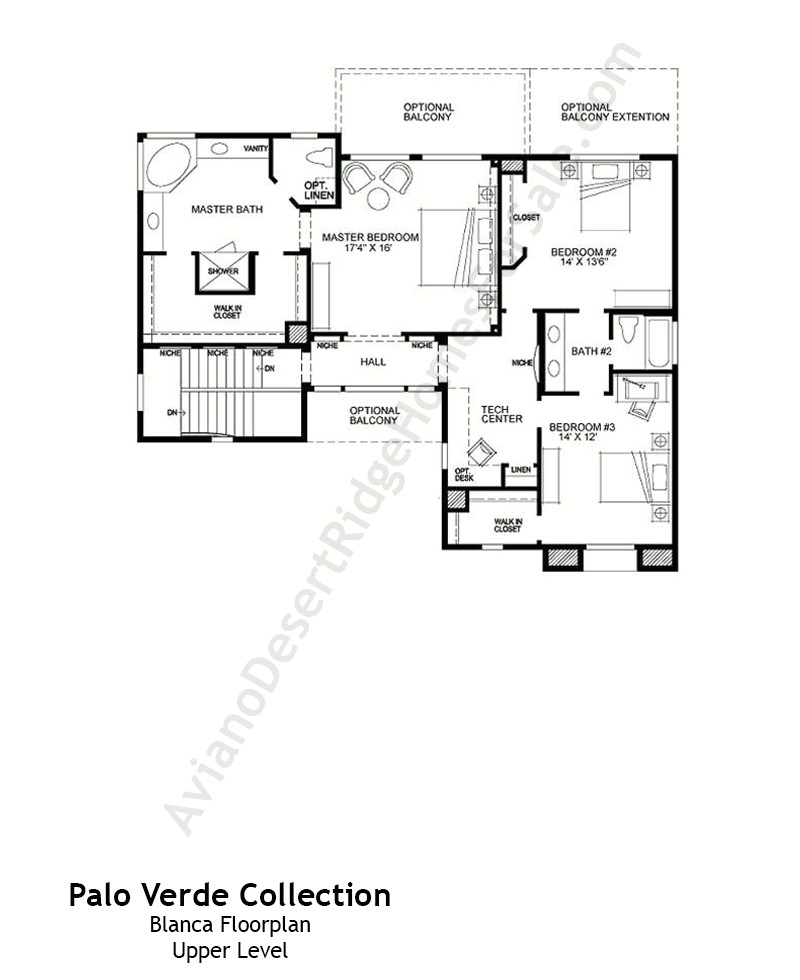 palo verde collection floor plans aviano desert ridge