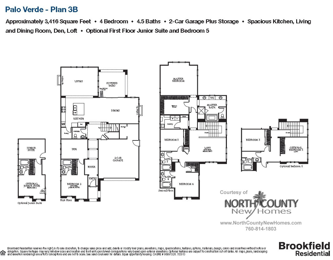 palo verde housing floor plan