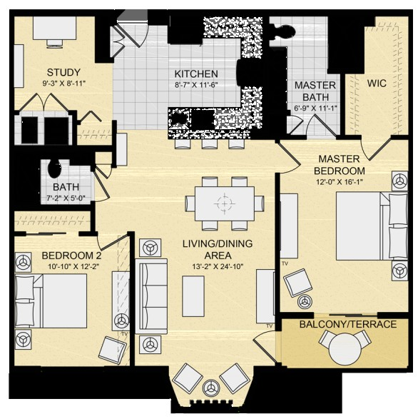 2 bedroom park model with loft floor plans