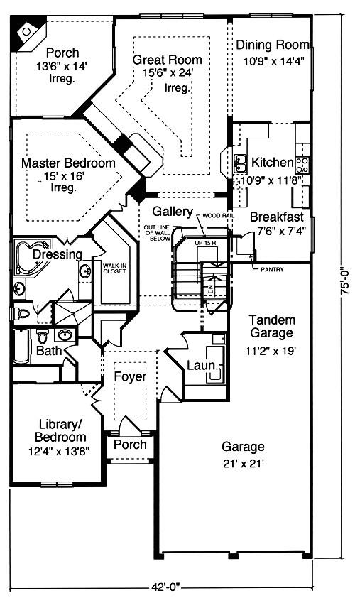 patio home plans