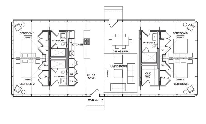modular glass house philip johnson alan ritchie architects
