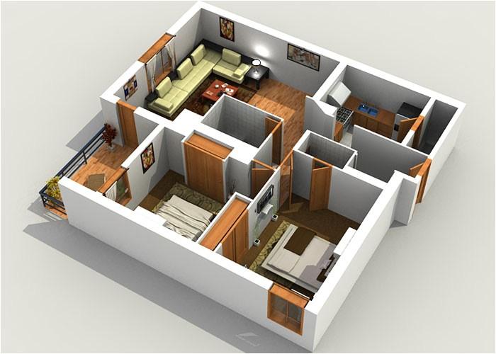 3d floor plan drawings