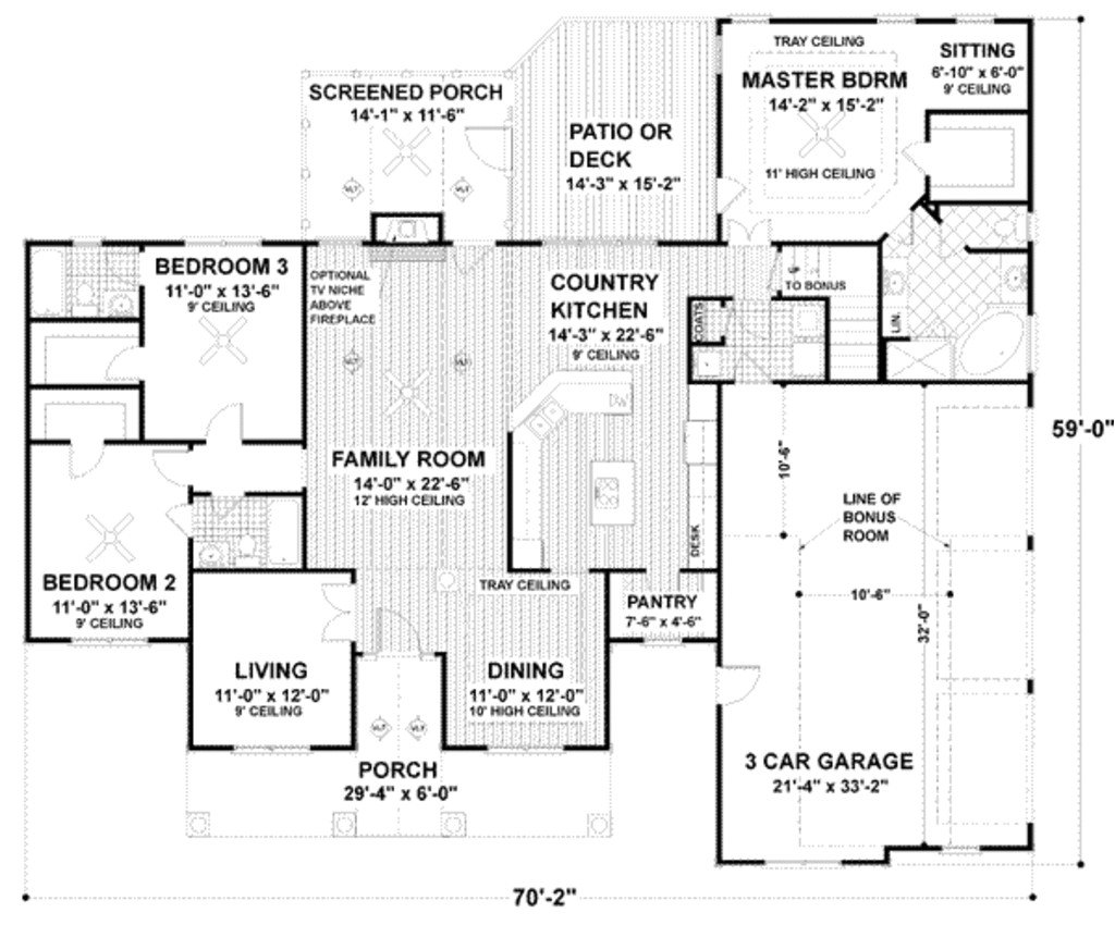 Plan for00 Square Feet Home | plougonver.com