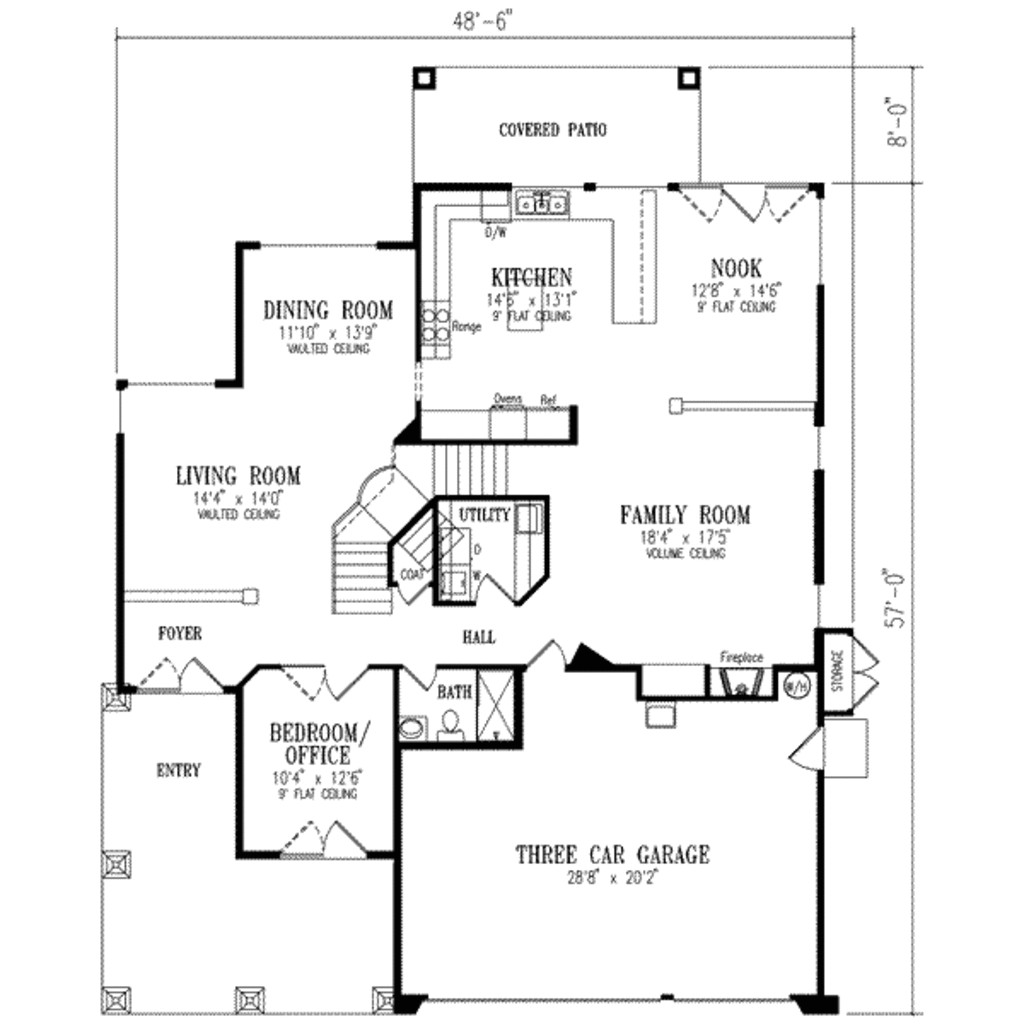 mediterranean style house plan 5 beds 3 00 baths 3036 sq ft 3