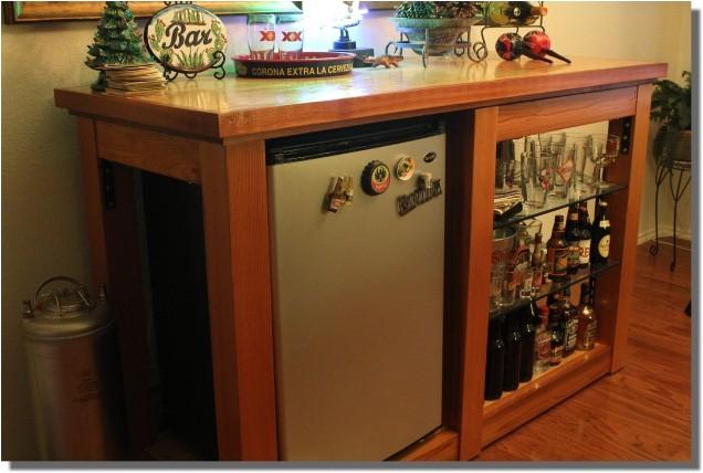 home bar plans