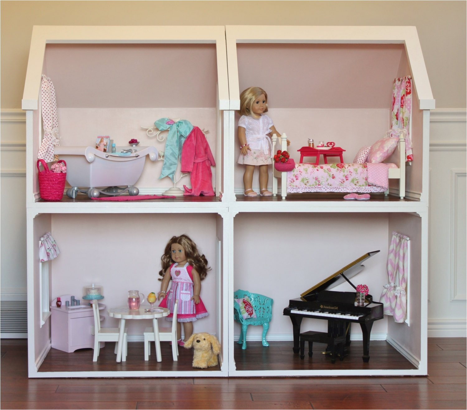 Plans For American Girl Doll House Doll House Plans For American