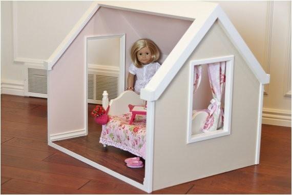 Plans for American Girl Doll House Karen Mom Of Three 39 S Craft Blog Doll Houses for the