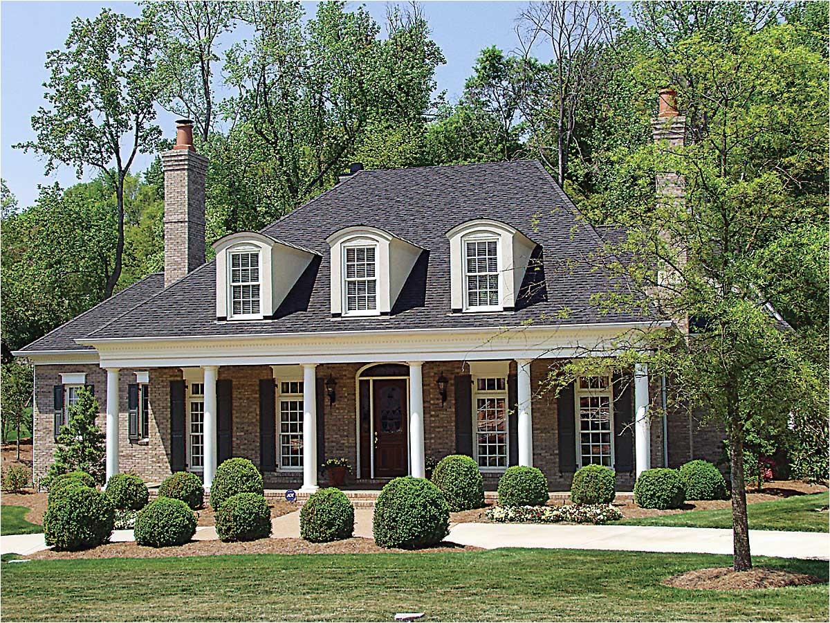 plantation style house plan 17690lv