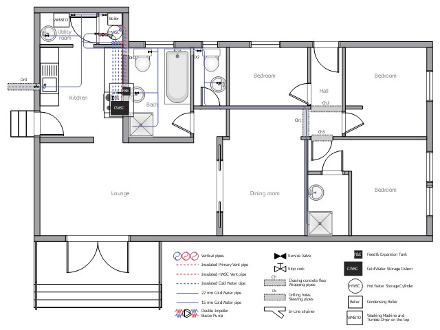 house design toilet plan png